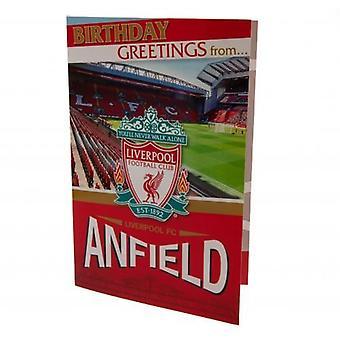 ليفربول، بطاقة عيد ميلاد المنبثقة