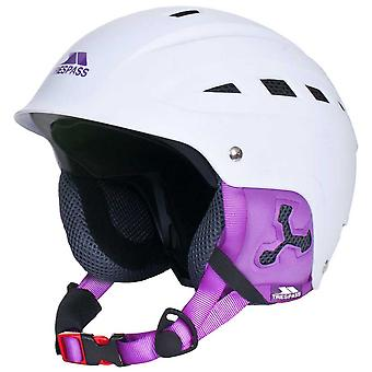 Trespass Mens Womens Davenport Snowsport Ski Snowboarding Helmet White