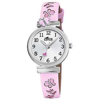 Lotus watches Quartz Analog Child Watch with Cowhide Bracelet 18627/2