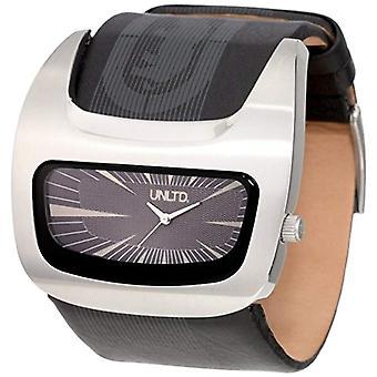 Marc Ecko Classic Analog quartz men's watch with leather E15090G1
