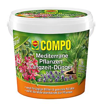 COMPO Mediterranean Plants Long-term fertilizer, 1.5 kg
