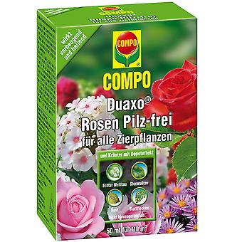 COMPO Duaxo® roser champignon-fri for alle prydplanter, 50 ml