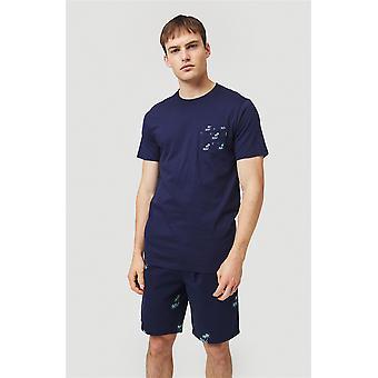 O'Neill Men's Camiseta - Escala de bolsillo de palma