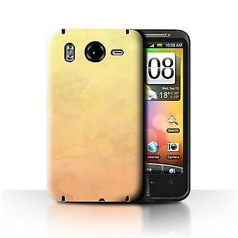 STUFF4 Case/Cover for HTC Desire HD/G10/Fire/Watercolour/Abstract Ombre