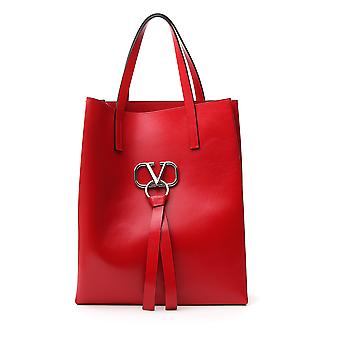 Valentino Garavani Sy2b0828vdlju5 Men's Red Leather Tote
