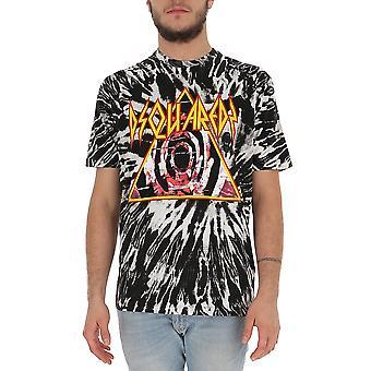 Dsquared2 S71gd0832s23555004s Män's Multicolor Bomull T-shirt