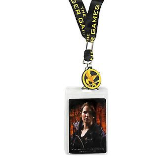 Hunger Games Girl On Fire Katniss Design Lanyard