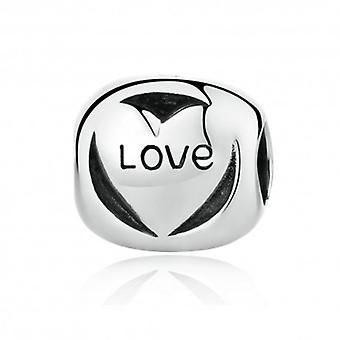 Sterling Silver Charm Love Forever - 5562