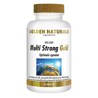 Golden Naturals Multi Strong Gold (90 tablets)
