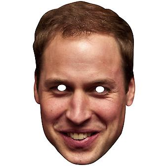 Prince William Duke of Cambridge Royal Single Card Party Fancy Dress Mask