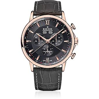 Edox - Wristwatch - Men - Les Bémonts - Chronograph Complication - 10501 37R GIR