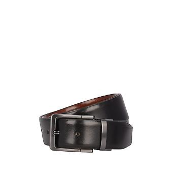 Caldew Double-Sided Leather Belt in Tan & Black