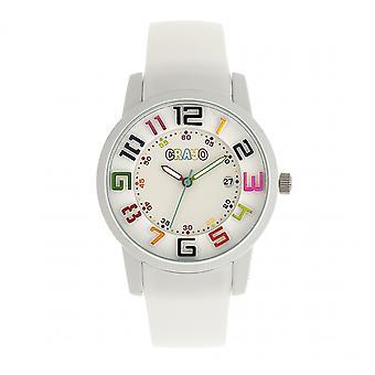 Crayo Festival Unisex horloge w / datum - White