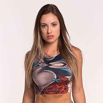 Women's Sports Top in the style of Mr. Dheo's graffiti design
