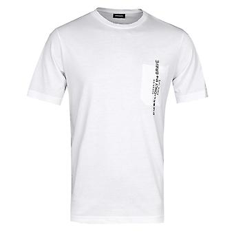 Diesel Just Pocket White T-Shirt
