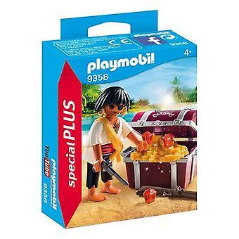 Lekesett Spesielle Pluss Pirat Playmobil 9358 (5 stk)