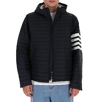 Thom Browne Mjd022x05411415 Heren's Blue Nylon Down Jacket