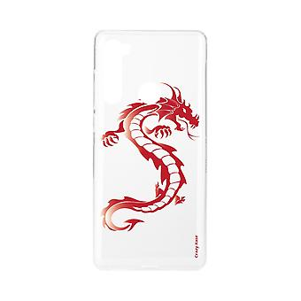 Hull For Xiaomi Redmi Note 8 Soft Red Dragon