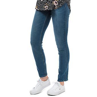 Women's Only Eva Life Regular Slim Jeans in Blue