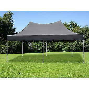 Vouwtent/Easy up tent FleXtents PRO Peak Pagoda 3x6m Zwart