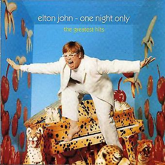 Elton John - One Night Only [CD] USA import