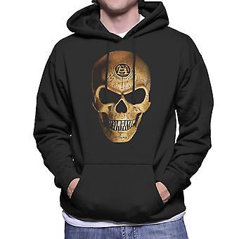 Simya Omega Skull Men's Kapüşonlu Sweatshirt
