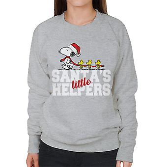 Orzeszki ziemne Snoopy Woodstock Santas Little Helpers Bluza damska