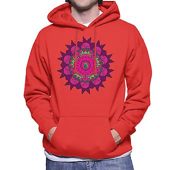 Rick and Morty Rick Kaleidoscope Men's Hooded Sweatshirt