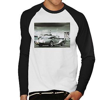 Morgan Motor Aeromax aitauksessa on Silverstone miesten Baseball pitkähihainen t-paita