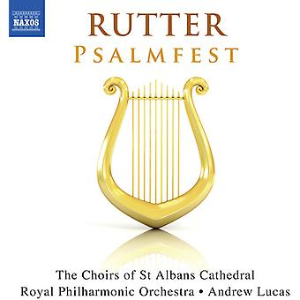 Cragg, Elizabeth / Allen, Mike / Royal Philharmonic - John Rutter: Psalmfest [CD] USA import