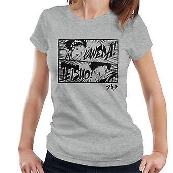 Kaneda Tetsuo Comic Strip Split Frauen's T-Shirt