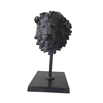 Lion on Standard Black Antiques