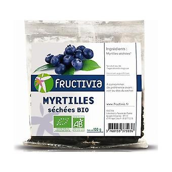 Organic Dried Blueberries 100 g