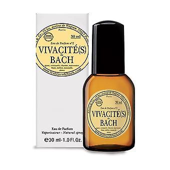 Eau de parfum Vivacity n ° 2 with Bach Flower 30 ml