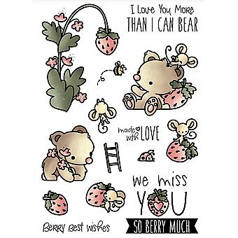 LDRS Creative Strawberry Patch Clear Stamps