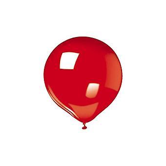 """25 12""""/30cm Balões - Vermelho"""