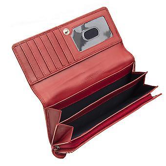 Primehide Large Matinee Leather Purse RFID Blocking Womens Wallet Ladies 6003