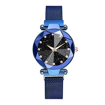 Yuhao Starry Night Watch Ladies - Luxury Anologue Quartz Movement for Women Blue