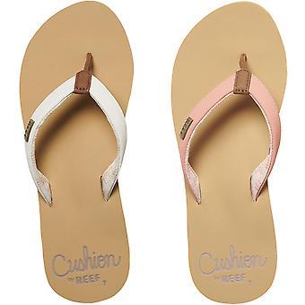 Reef Womens Cushion Sands Beach Pool Summer Slip On Flip Flop Thongs Sandals