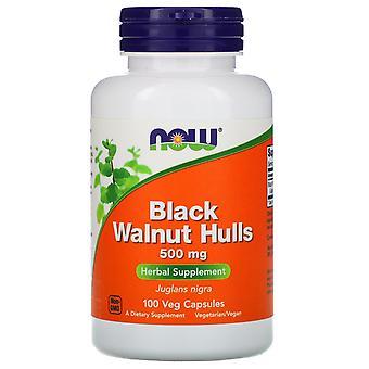 Ora Alimenti, Scafi di Noce Nera, 500 mg, 100 Veg Capsule