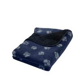 Tanskan Design Fleece Blanket - Navy - Pieni