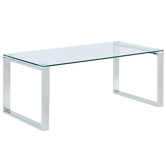 Rhys Coffee Table - Silver