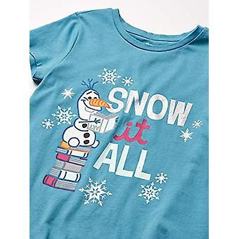 Spotted Zebra by Disney Frozen 2 - Toddler Girls' 4-Pack Short-Sleeve T-Shirt...