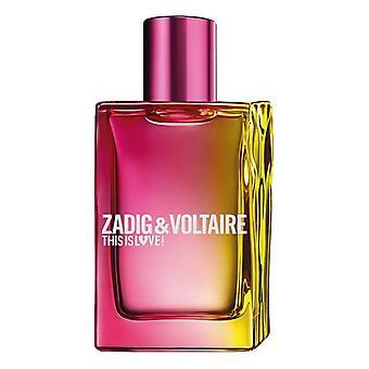 Women's Perfume This is Love Zadig & Voltaire EDP (50 ml)