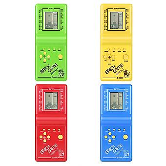 Classic Tetris Hand Held Lcd Electronic Game Toy - Fun Brick Riddle (random Color)