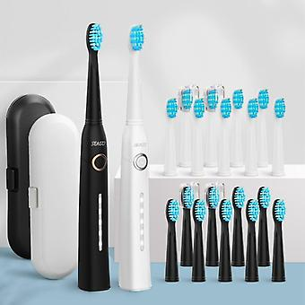Sonic Electric Toothbrush Usb recargable para adultos ultrasónicos impermeables
