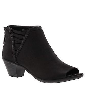 Easy Street Womens Paris Peep Toe Ankle Fashion Boots