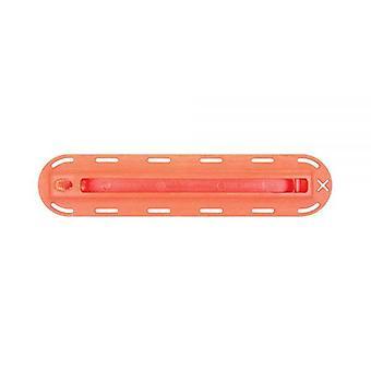"Futures fin 1/2"" boîte à nageoires orange"