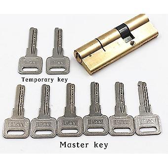 Cilindro Ab Key Antirroubo Bloqueio 65 70 80 90 115mm - Bloqueio tendencioso do cilindro