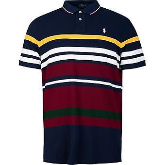 Polo Ralph Lauren Kurzarm Multi gestreift Polo Shirt